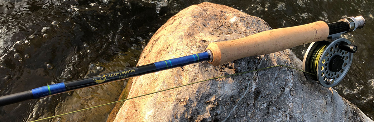 Catskill Mountain Angler custom fly rod